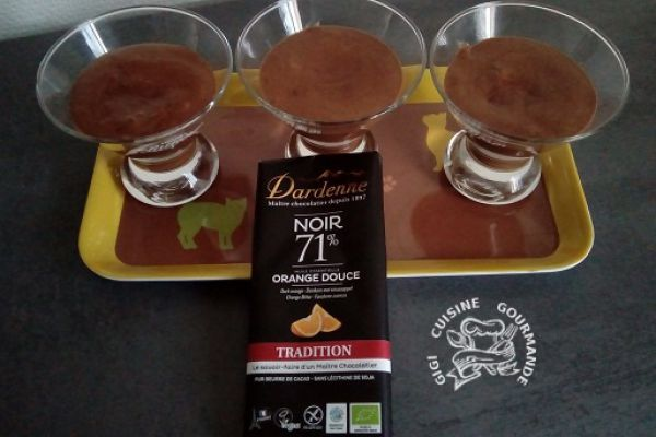 Recette Mousse chocolat Dardenne