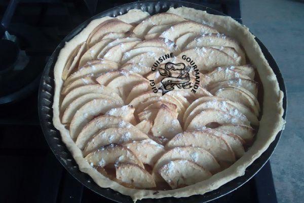 Recette tarte brisée aux pommes/coings 100 % maison