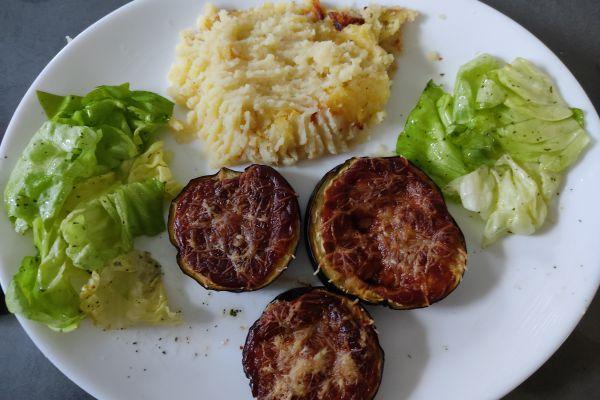 Recette PIZZ aubergine