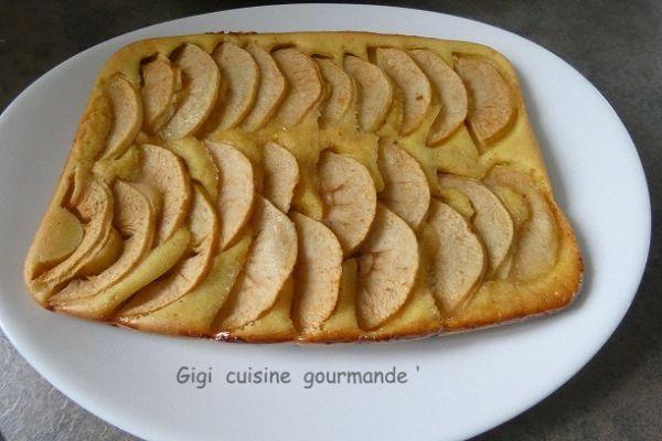 Recette Pizza liquide sucrée aux pommes
