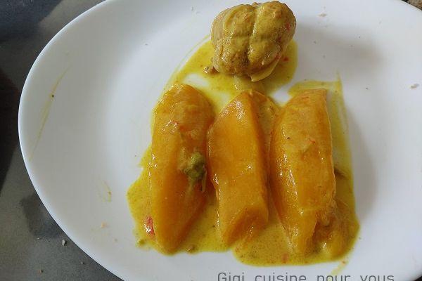 Paupiettes de dinde à la mangue au cookéo