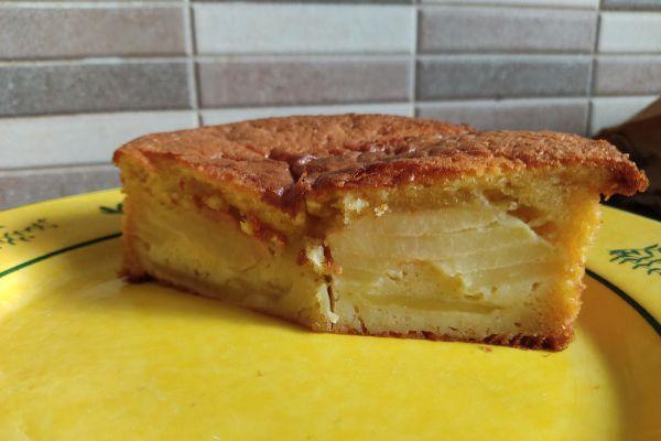 Recette Tarte aux pommes sans pâte au cake factory (texture gâteau)