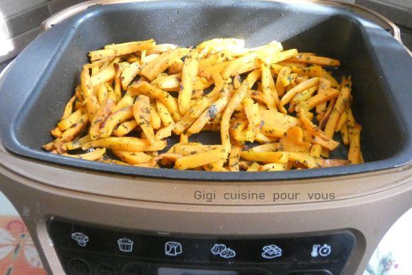 Recette Frites de patate douce au cake factory
