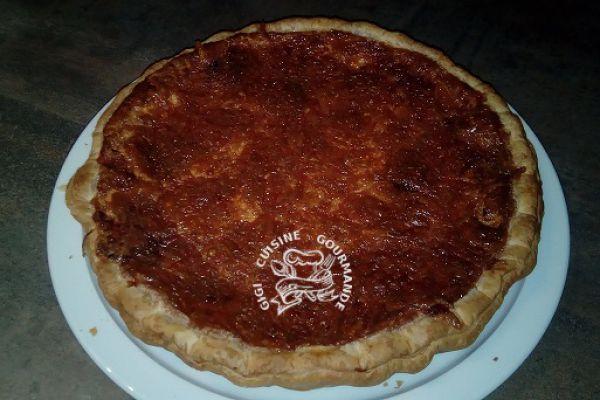 quiche cheddar et chorizo (cookéo)