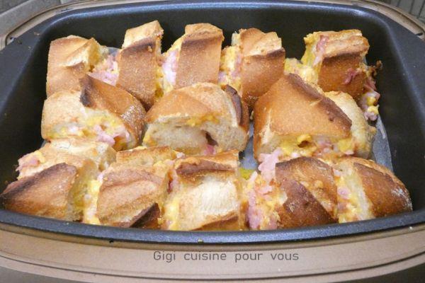Recette Croûtons de bacon au cheddar avec le cake factory