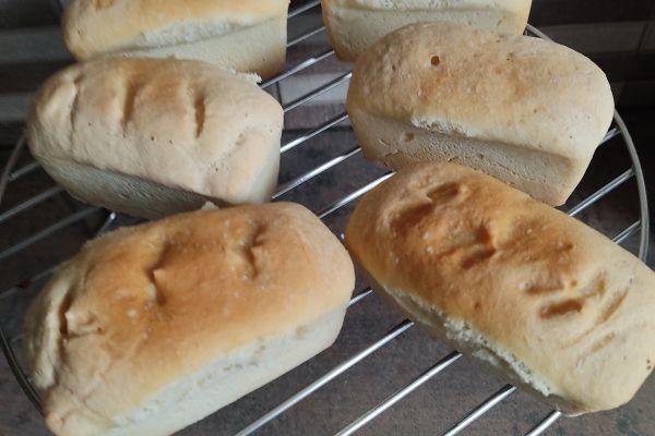 Recette Minis pains au compact cook pro et cake factory