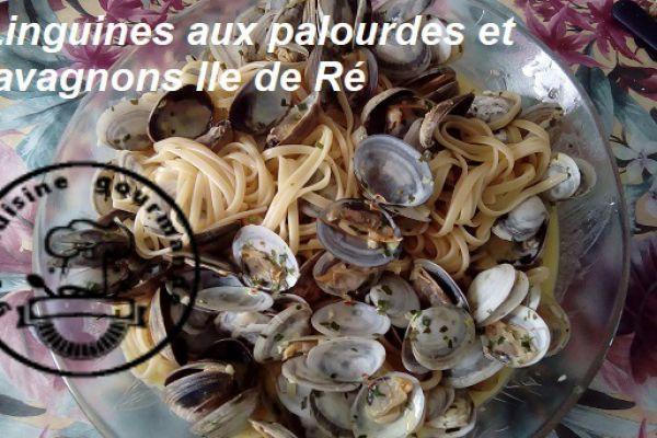 Recette LINGUINES AUX PALOURDES ET LAVAGNONS DE L'ILE DE RE