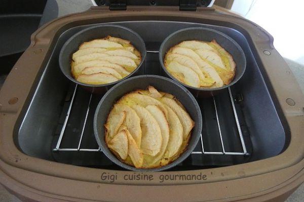 Tartelettes pommes sans pâte au cake factory