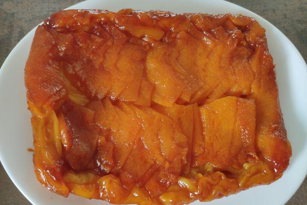 Recette Tatin de melon au cake factory