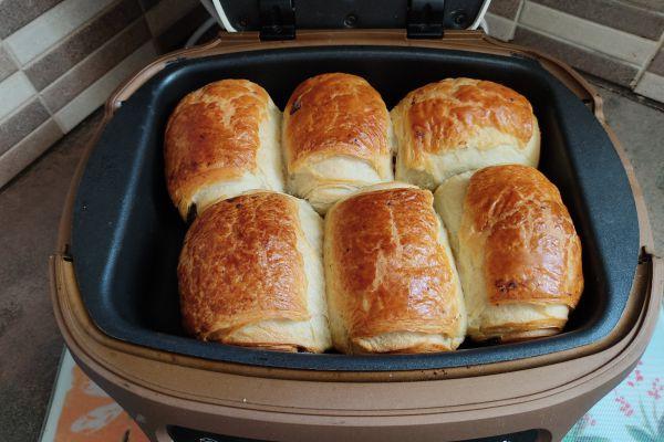Recette Cuire des pains au chocolat surgelés avec le cake factory