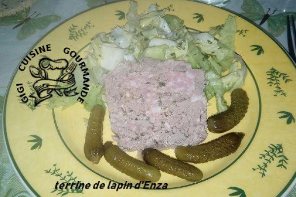 Terrine de lapin d'Enza au cookéo