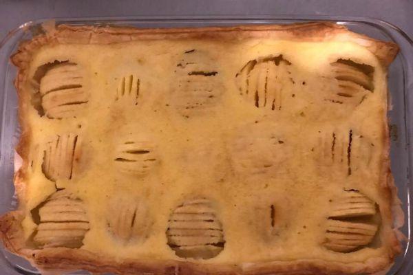 Recette tarte aux pommes revisté