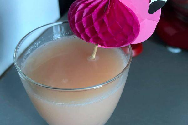 Recette cocktail fraise bonbon banane