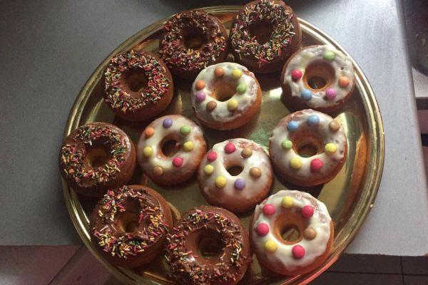 Donuts à la vanille et Nutella