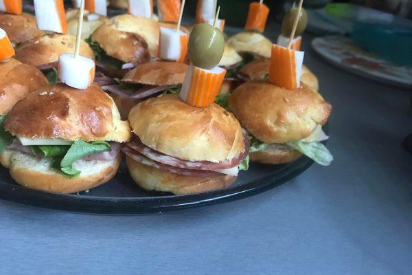 Recette mini pain hamburger moelleux