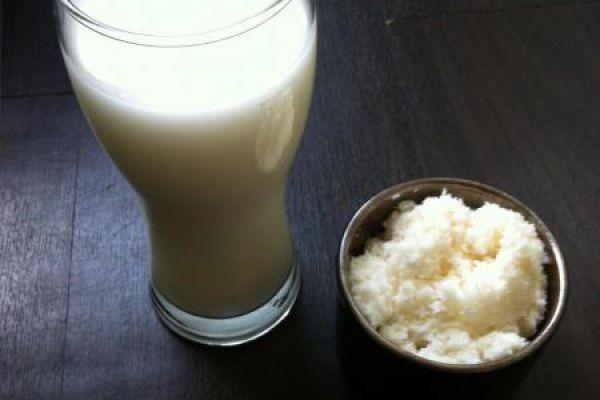 Recette lait de coco