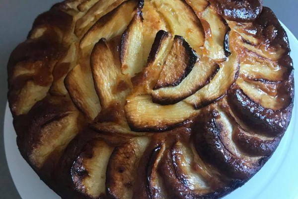 Recette gâteau yaourt moelleux aux pommes
