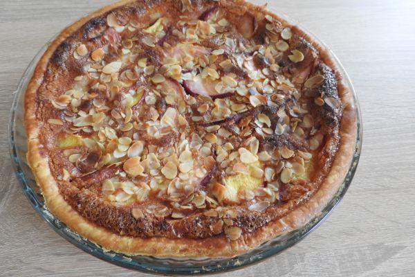 tarte nectarines et crème d amande