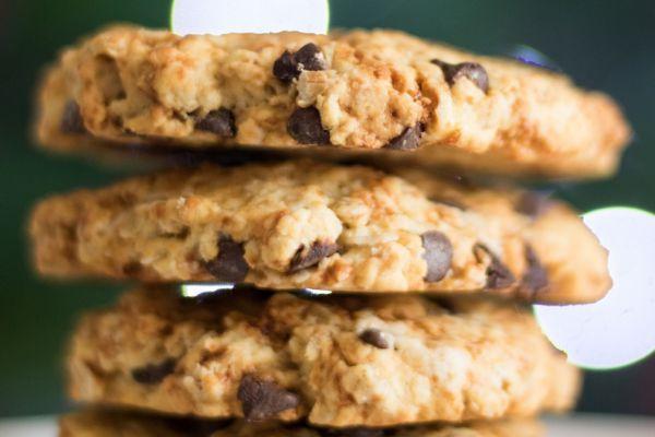 Recette Cookie aux flocons d'avoine et pépites de chocolat