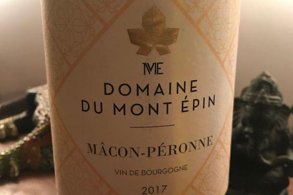 Recette Mâcon-Pérrone 2017 - Domaine du Mont Epin
