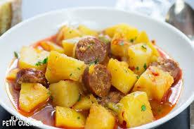Recette Ragoût de pomme de terre