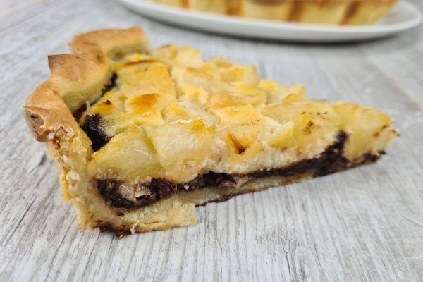 Recette Tarte poire chocolat frangipane allégée