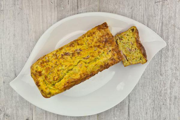 Recette Cake léger aux légumes et jambon