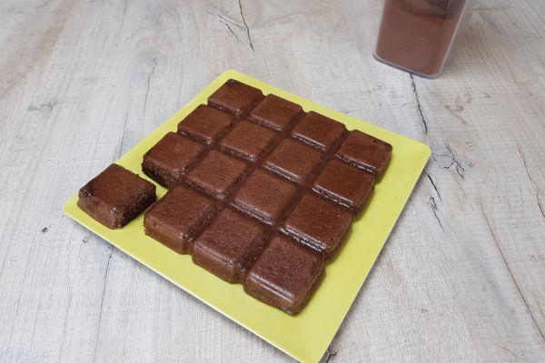 Recette Gâteau de semoule au cacao