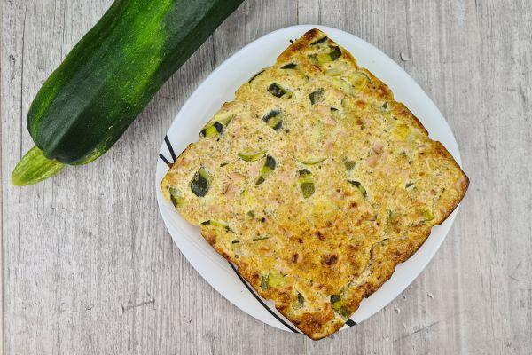 Recette Flan de quinoa, courgette et jambon
