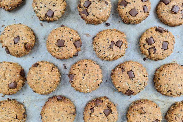 Recette Biscuits healthy aux graines