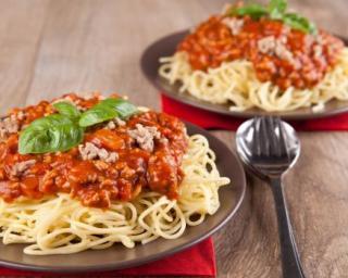 Recette Spaghettis à la bolognaise économique