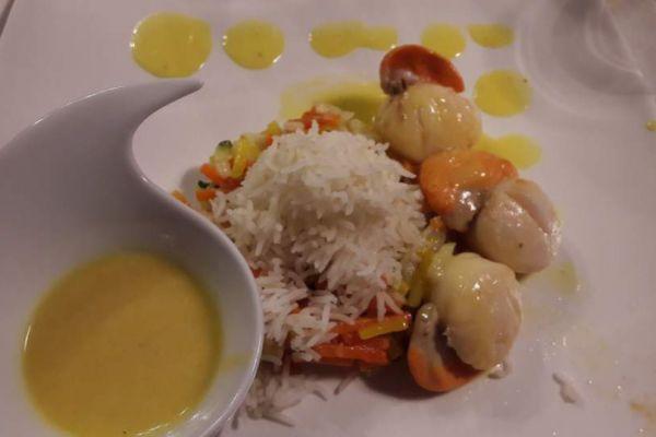 Recette  St Jacques sauce Noilly Prat