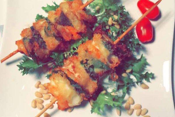 Recette Brochettes crevettes mozzarella basilic