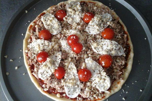 Recette Pizza thon mozzarella