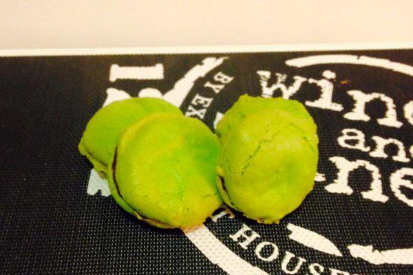 Macaron menthe - choco