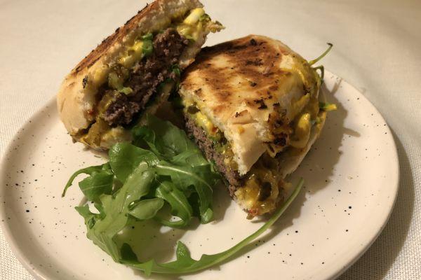 Recette Deluxe Manhattan burger