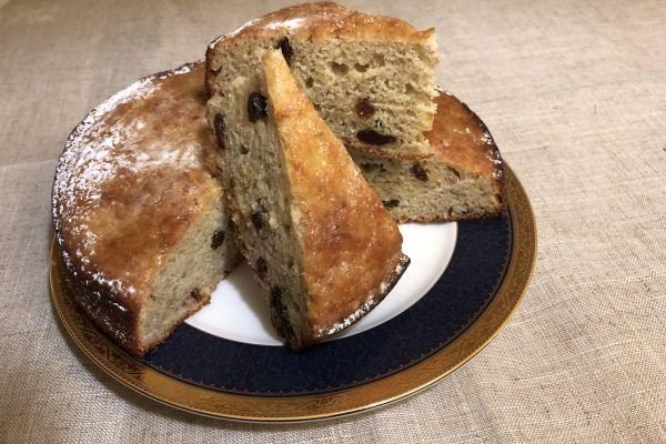 Recette Cake aux bananes  et raisins secs