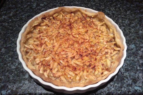Recette Tarte bananes pommes passion
