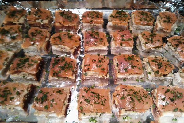 Recette Toast Saumon fumé Maquereaux Grillés