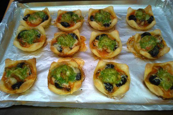 Recette Feuilletés Saint Jacques, olives, beurre d'escargot