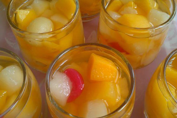 Recette Verrines aux fruits rapide