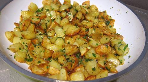 Recette Pommes de terre fondantes (façon Jamie)