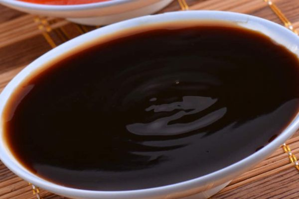Marinade sauce noire