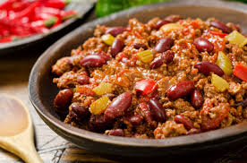 1,2,3 = Chili con carne express