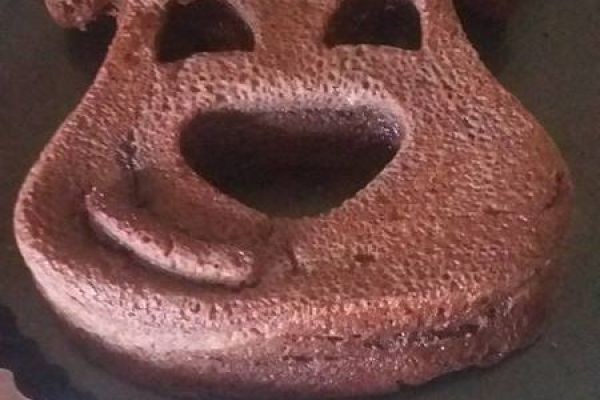 Recette Fondant au chocolat en forme d'ourson