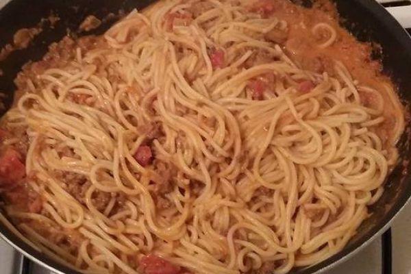 Recette Spaghettis Bolognaises maison