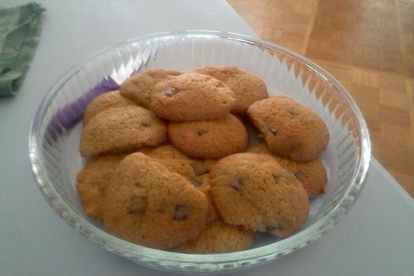 Recette Cookies aux trois chocos