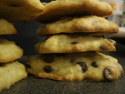 Recette Cookies banane-chocolat