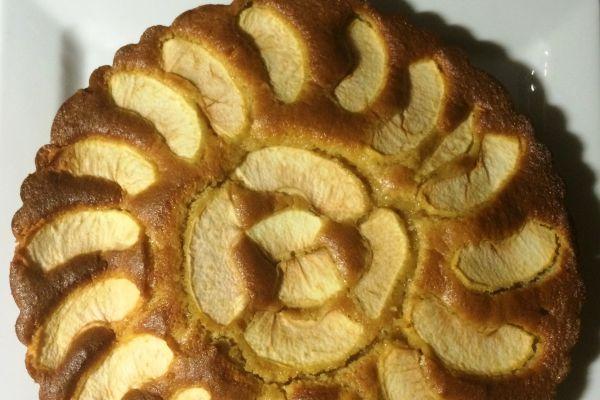Gateau mascarpone pomme