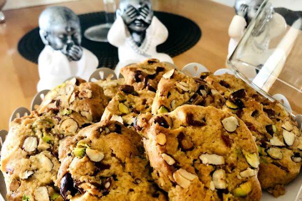Recette Biscuits fruits sec et dattes